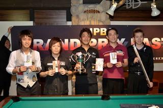 2013グランプリイースト第7戦入賞者画像