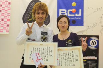 2014関西オープン男女優勝者画像