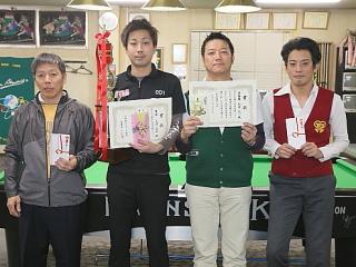 2014京都オープン入賞者