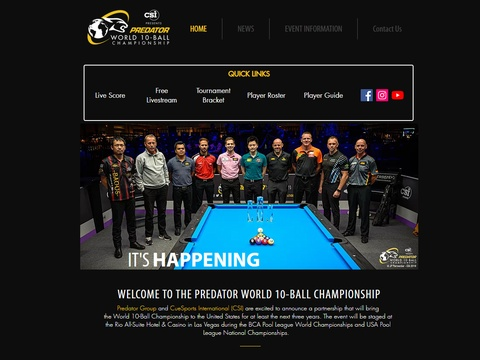 2019World10ballChampionship