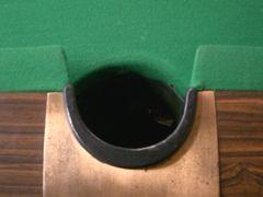 ポケットテーブルのサイドポケットの画像