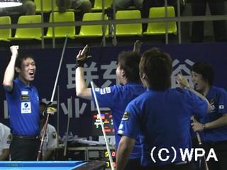 2012世界チーム戦の日本チーム画像