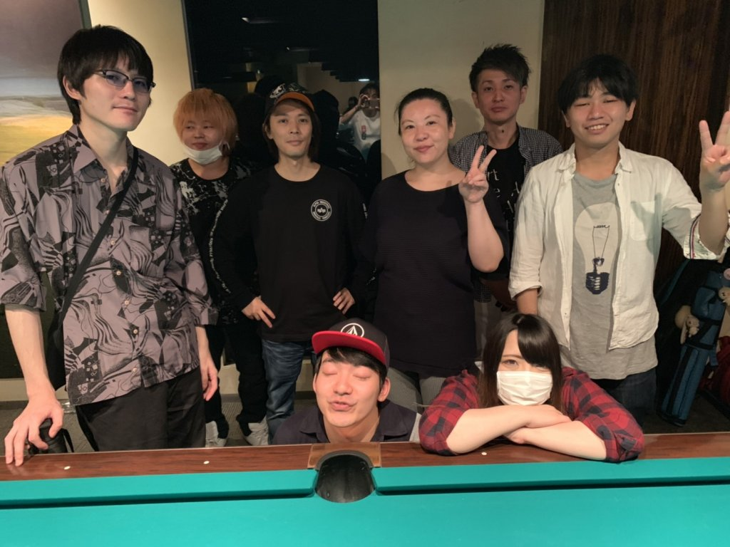 team-bunny Black [9-ball]
