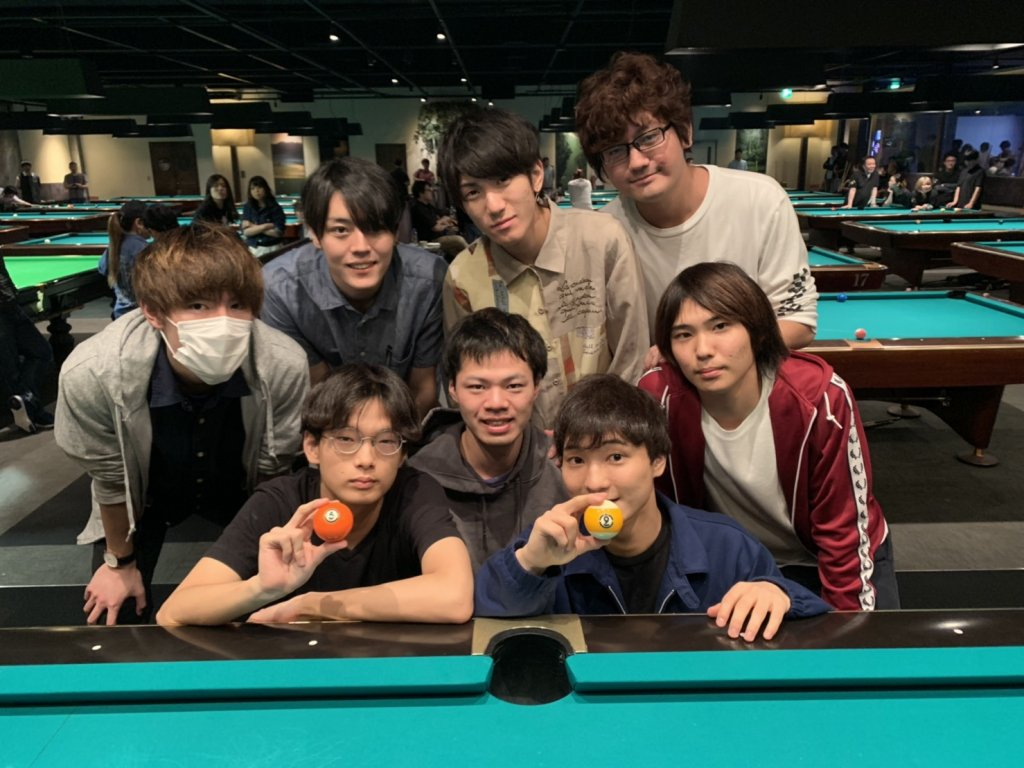 Gou kyu warriors [9-ball]
